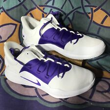 Nike Hyperdunk X Low TB White/Purple Basketball Shoes AT3867-108 Size 12