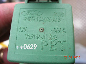 94FG 13A025 A1B, Ford Green  Relay  / FORD KA 96-08 1.3 see our shop