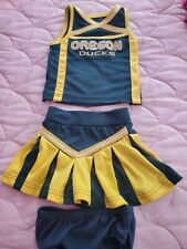 Oregon Ducks Cheerleader Outfit Size 2T