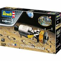 REVELL Gift Set Apollo 11 Columbia + Eagle 1:96 Space Model Kit 03700