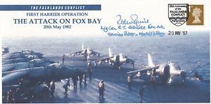 Falklands Conflict 1st Harrier Operation  Signed P Squire Harrier Pilot Falkland
