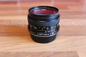 Yashica ML 50mm 1:2 Lens