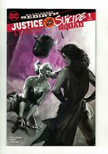 Justice League vs Suicide Squad #1 Gabrielle Dell'Otto B&W & Pink Variant Marvel