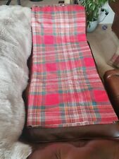 117x 137 x 2  pairs for sale Morcott Check tartan