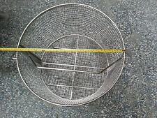 "Basket, round, pressure fryer, 16"" dia. Stainless, 5004593"