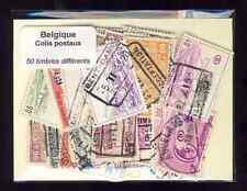 Bélgica - Bélgica paquete postal 50 sellos diferentes