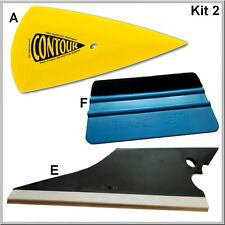 Kit n° 2 une raclette contour + une blue téflon 3M + un conquerer