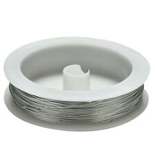 40m Iron Craft Wire 0.5mm Spool Soft DIY String Jewelry Craft Metal Cable B1