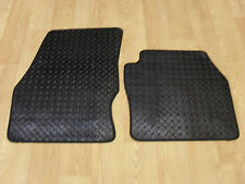 Ford Transit Connect 2014-2016 Fully Tailored RUBBER Car Mats in Black.