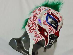 JOKER MASK WRESTLING MASK LUCHADOR COSTUME WRESTLER LUCHA LIBRE MEXICAN MASKE