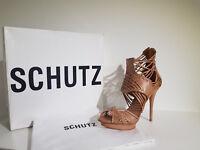 """"""" Schutz """" Sandalo Donna .Sconto -60 % Art. Sugar 11210082  - Col.Cuoio"""