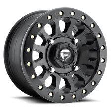Fuel Off-Road D920 Vector 15x7 4/156 5+2 Black Beadlock Wheel    D9201570A545