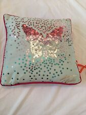 BNWT Ted Baker Blue Rose Cushion Girls