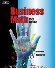 Business Math 15th Edition New Textbook