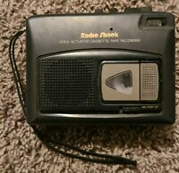 Vintage RADIO SHACK CASSETTE TAPE RECORDER CTR-96 Voice Actuated 14-1105, Works