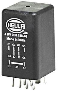 Glow Plug System Control Unit HELLA Fits AUDI VW SKODA A2 A3 A4 4RV008188481