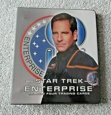 More details for star trek enterprise season 4 (four) card binder/folder