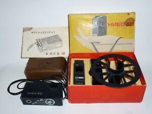 KIEV 30 Russian Arsenal Submini Spy Camera 16mm in case+box