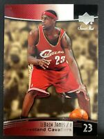2004-05 Sweet Shot #13 LeBron James CAVALIERS 2nd Year Card