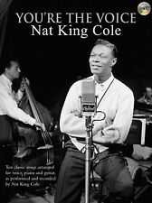 Youre The Voice Nat King Cole Jazz Piano Voice Guitar FABER Music BOOK & CD