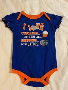 Florida Gators baby headband Football headband UF baby headband Gators baby headband