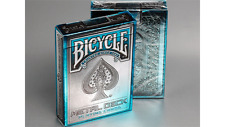 Bicycle Metal Blue Rider Back Playing Cards by Collectable Deck Poker Cardistry