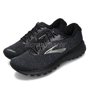 Brooks Adrenaline GTS 20 2E Wide Grey Black Men Running Shoes 110307 2E 071