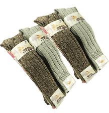 Womens Ladies Long Thick Chunky Wool Blend Warm Soft Hiking Work Boot Socks