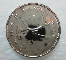 1977 CANADA 25 CENTS PROOF-LIKE COIN