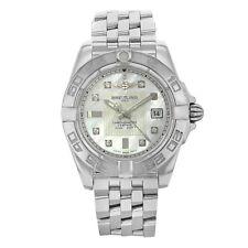 Breitling Galactic 32MM MOP Dial Steel Quartz Ladies Watch A71356/A708-367A