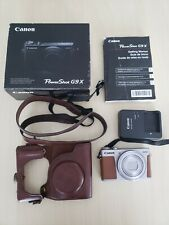 Canon PowerShot G9 X 20.2MP Digital Camera - Silver With Extras