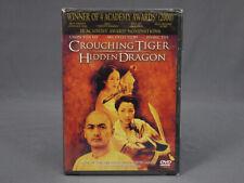 "New Sealed ""Crouching Tiger Hidden Dragon"" Dvd 2000"