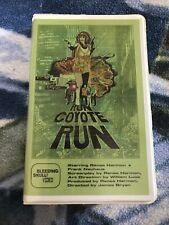 Run Coyote Run Vhs horror action Bleeding Skull James Bryan Sov