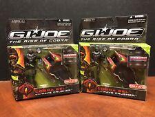 GI Joe Rise Of Cobra Eel With Wave Crusher Target Exclusive Lot Of 2 Dela2091