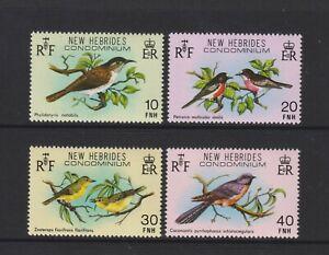 New Hebrides - 1980, Birds set - In English - MNH - SG 283/6