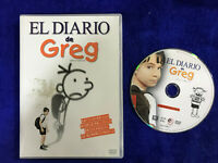 EL DIARIO DE GREG DVD DIARY OF A WIMPY KID