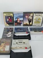 Vintage Retro Country Music Cassettes Tapes Bundle x 9 Slim Whitman Various