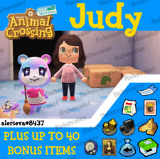 Animal Crossing New Horizons - Judy in Boxes plus Bonus Extras! Limited 1/day!