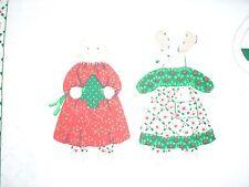 Christmas Wonderland Santa and Reindeer  Cloth Doll Panel