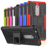 For Nokia 6.1 (2018) / Noika 7.1 Case Shockproof Armor Kickstand Phone Cover