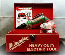 Milwaukee Drywall Screw Gun 6791-20 Metal carrying case and tray 0-2500 RPM 120v