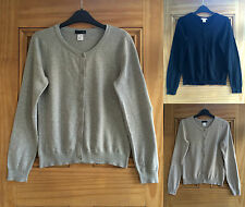 H&M Button Thin Waist Length Women's Jumpers & Cardigans