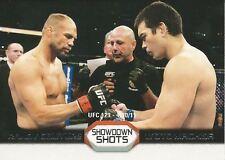 Randy Couture Lyoto Machida 2011 Topps UFC Moment Of Truth Showdown Shots SSCM
