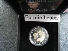 NEDERLAND       2011   2 Euro Commemorative Erasmus PROOF OP VOORRAAD / IN STOCK