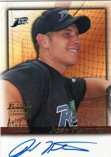 2001 BOWMAN JOSH HAMILTON BLUE AUTO CARD NICE