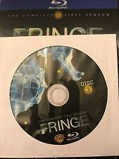 Fringe - Season 1 BLU-RAY, Disc 3 REPLACEMENT DISC (not full season)