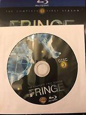 Fringe - Season 1 BLU-RAY, Disc 3 REPLACEMENT DISC (not full season)