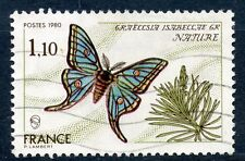 TIMBRE FRANCE FRANCE OBLITERE N° 2089  NATURE PAPILLON FAUNE