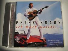 CD  Peter Kraus   ich mach' weiter....  20 Tracks   Neuwertiger Zustand