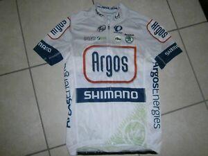 Vintage pro cycling jersey 2013 ARGOS SHIMANO PRO SKODA PEARL IZUMI aero Size M